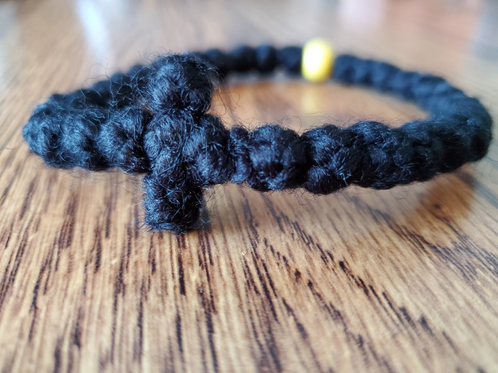 Wool Prayer Rope Bracelet